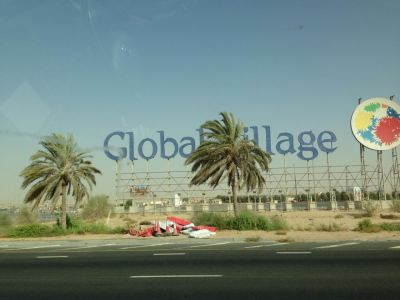 Global Village center, site of the Dubai Shopping Festival and the much anticipated Expo 2020.